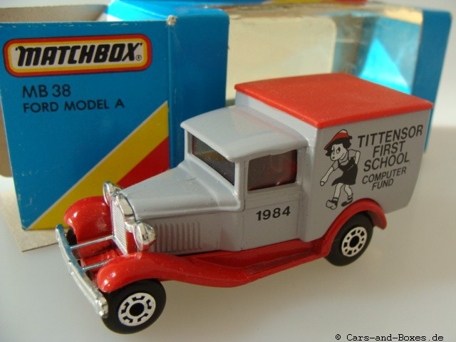 "Ford Model 'A' Van ""Tittensor First School"" (38-E/76-C) - 61101"