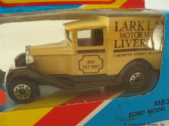 """Ford Model 'A' Van """"Larklane Liverpool"""" (38-E/76-C) - 61102"""