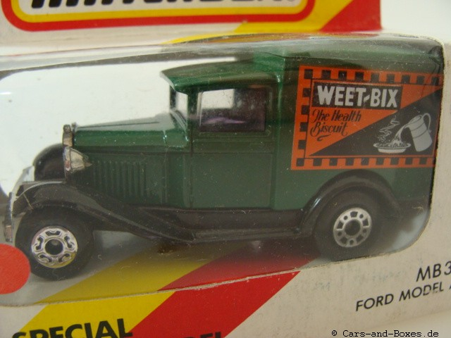 "Ford Model 'A' Van ""Weet-Bix Sanitarium"" (38-E/76-C) - 61104"