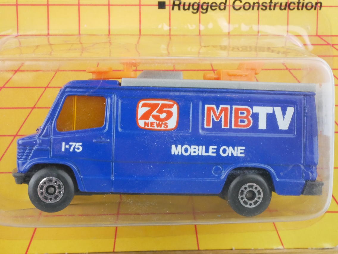 TV News Truck MBTV (68-G/73-D) - 61125
