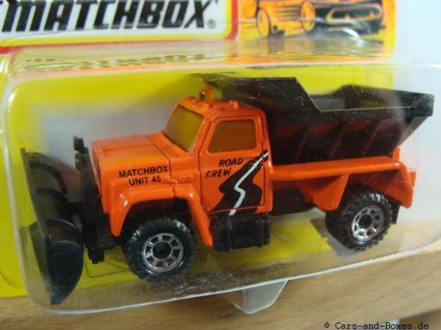 Highway Maintenance Truck Snow Plow (45-E/69-G) - 61229