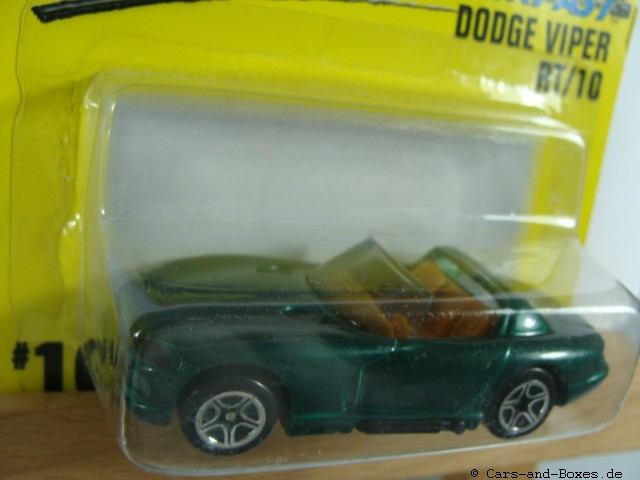 Dodge Viper RT 10 Cabrio grün (10-F/12-J) - 61365