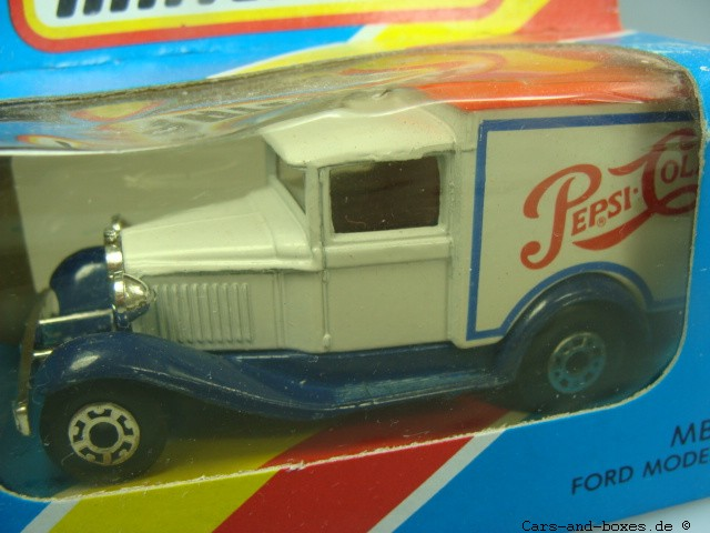 """Ford Model 'A' Van """"PEPSI-COLA"""" (38-E/76-C) - 61671"""