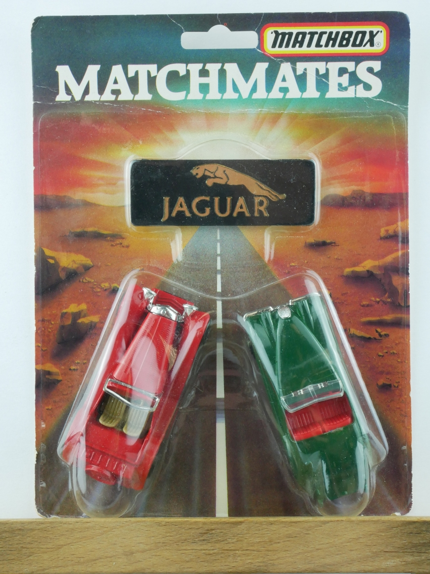 2 Pack Matchmates Jaguar Models - 61954