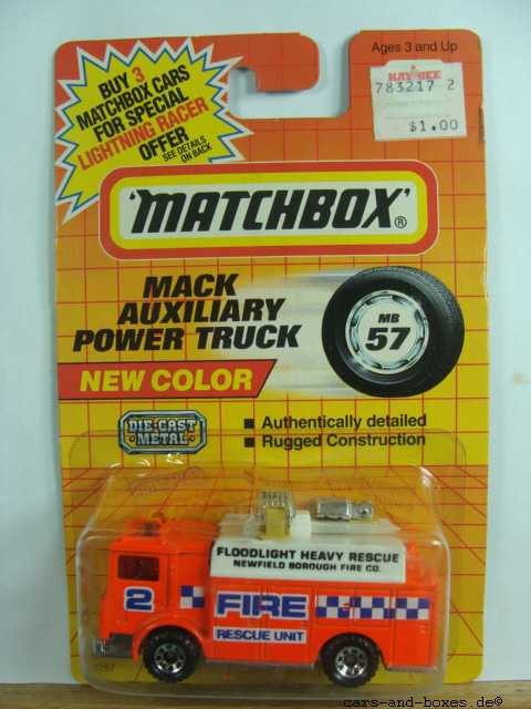 Mack Auxiliary Power Truck (57-H/50-G) - 62311