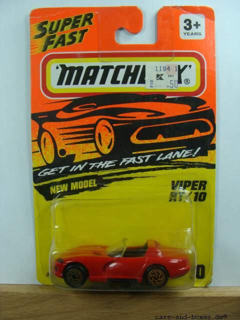 Dodge Viper RT 10 Cabrio rot (10-F/12-J) - 62430