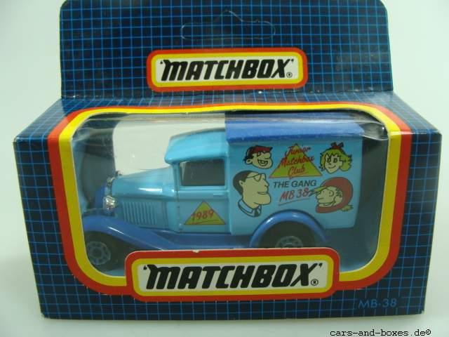 """Ford Model 'A' Van """"Junior MB Club 1989"""" (38-E/76-C) - 62443"""