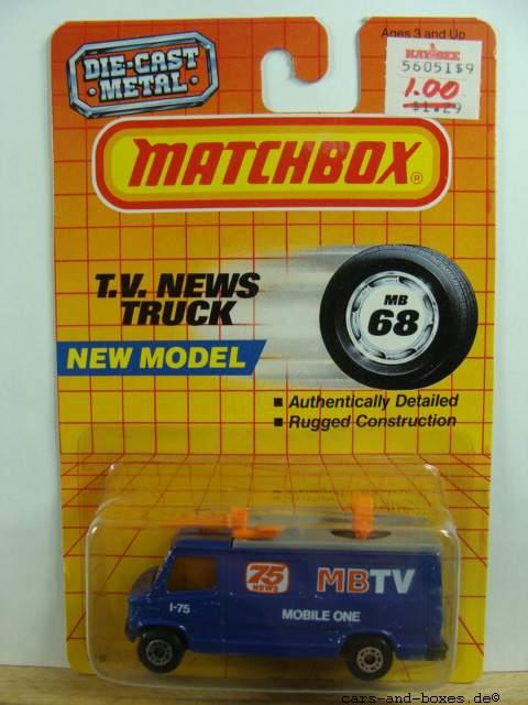 TV News Truck MBTV (68-G/73-D) - 62501
