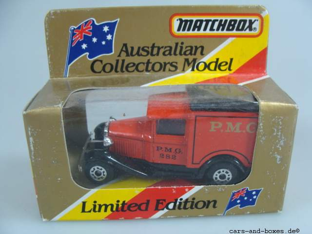 """Ford Model 'A' Van """"P.M.G."""" (38-E/76-C) - 62514"""