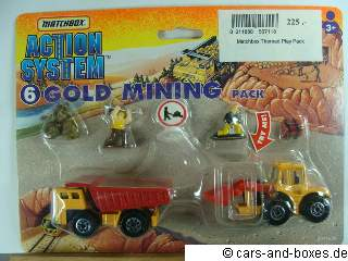 Action System 6 Gold Mining Pack - 62570