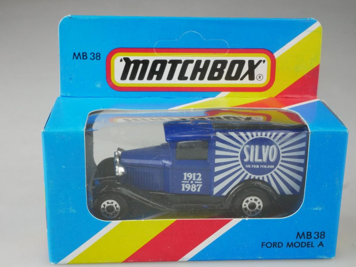 Ford Model 'A' Van (38-E/76-C) - 62983