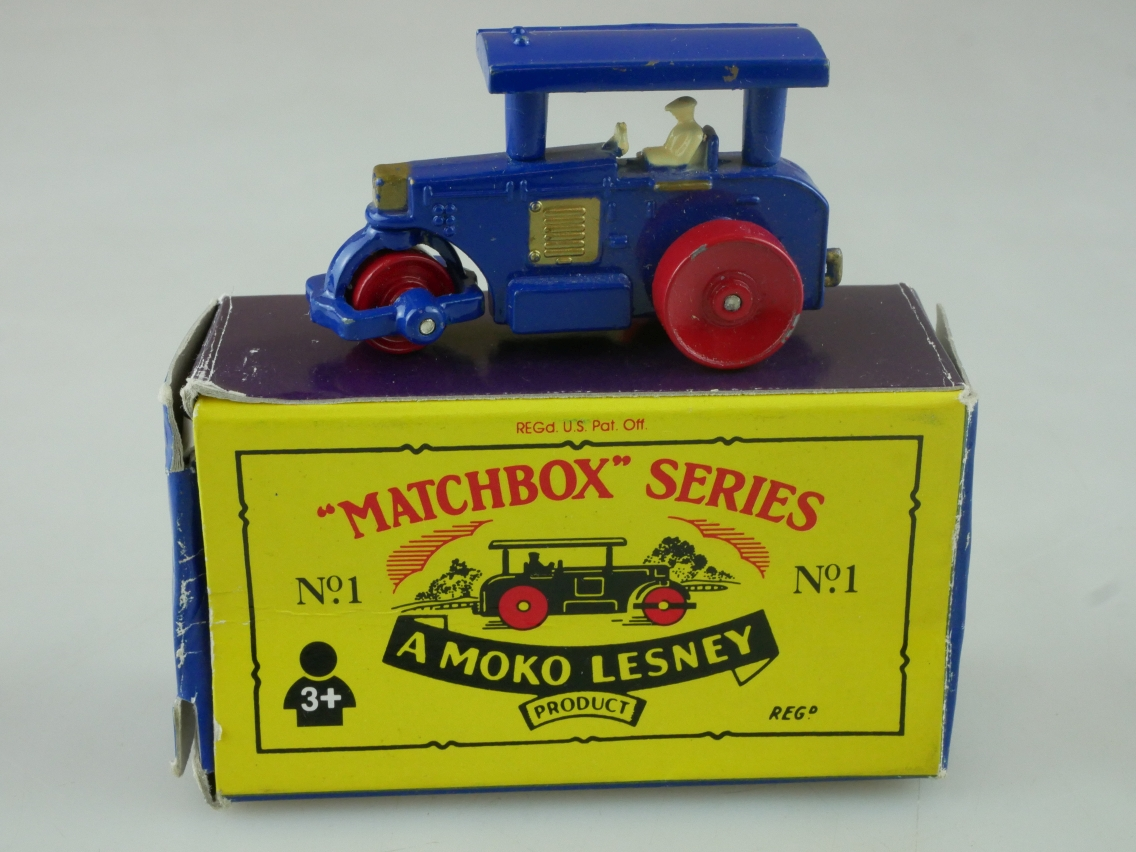 Matchbox Originals No. 01 Road Roller - 63028