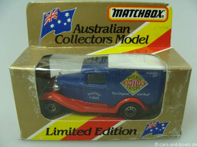 "Ford Model 'A' Van ""Smith's Potato Crisps"" (38-E/76-C) - 63105"