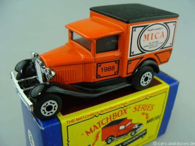 Ford Model 'A' Van (38-E/76-C) 1st North American M.I.C.A. Convention '88 - 63368