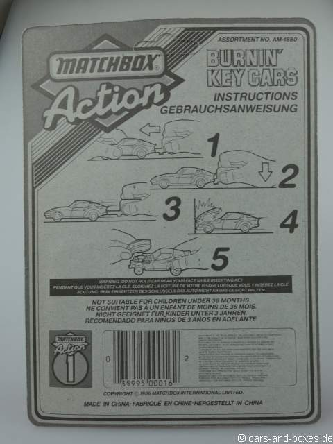 Key Car 12 1986  - 63424