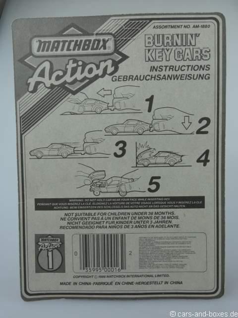 Key Car 55 1986  - 63430