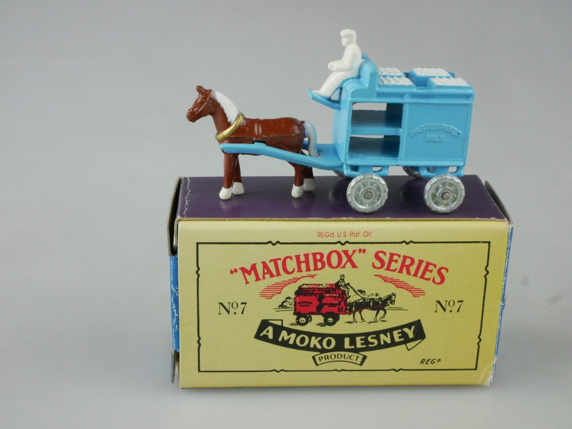 Matchbox Originals No. 07 Milk Float - 63444