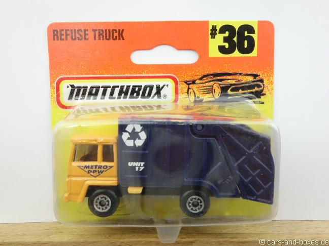 Refuse Truck gelb (36-D) - 63466