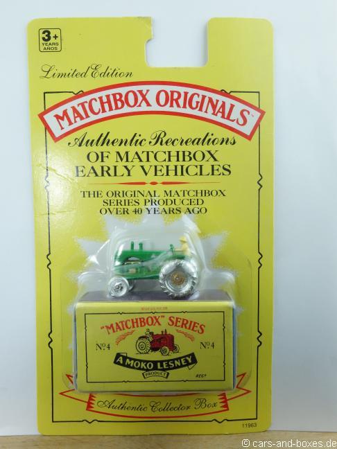 Matchbox Originals No. 04 Tractor - 63502
