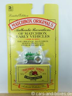 Matchbox Originals No. 04 Tractor - 63502