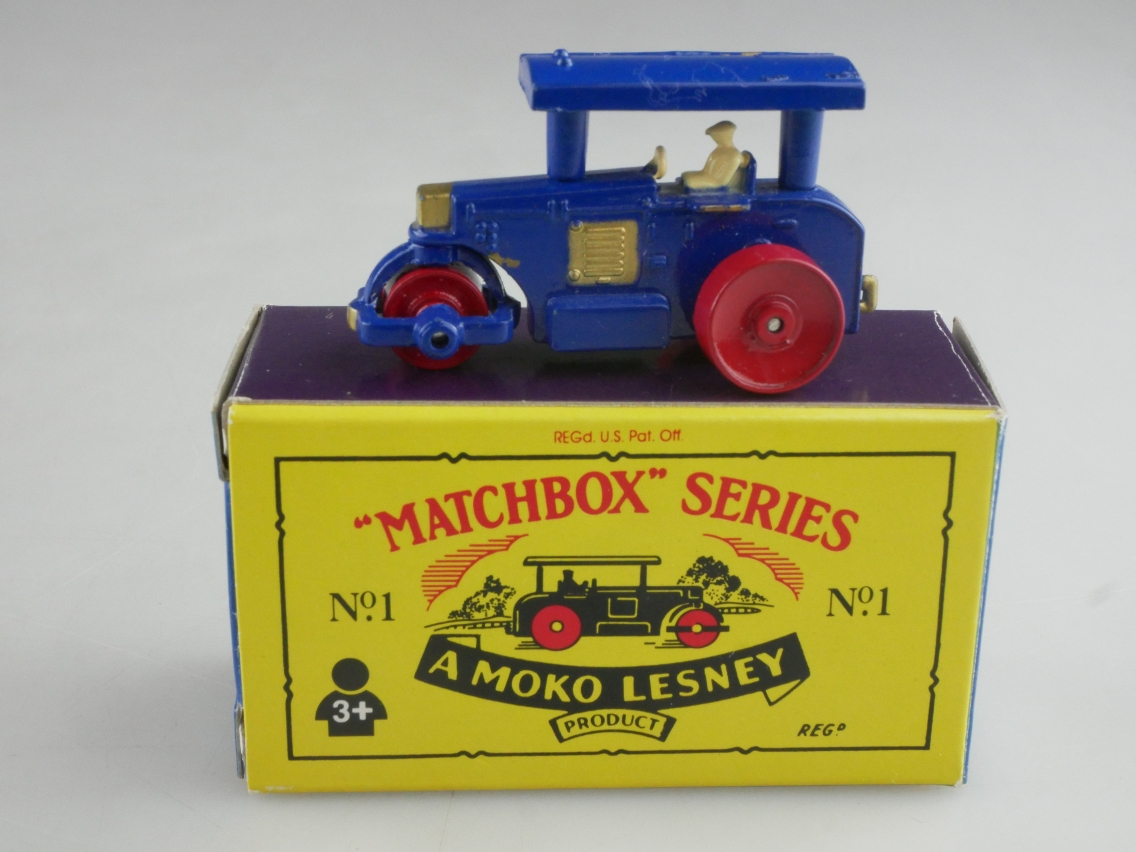 Matchbox Originals No. 01 Road Roller - 63583