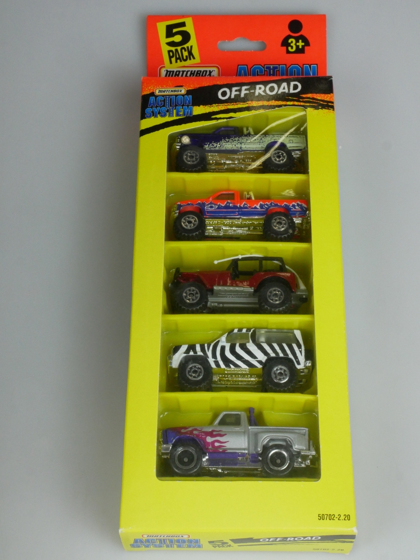 5-Pack Action System 20.2 Off-Road Set - 63878