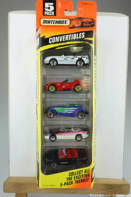 5-Pack Exclusive Designs Convertibles - 63886