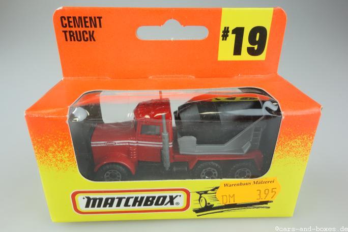 Peterbilt Cement Truck (19-D) - 63910
