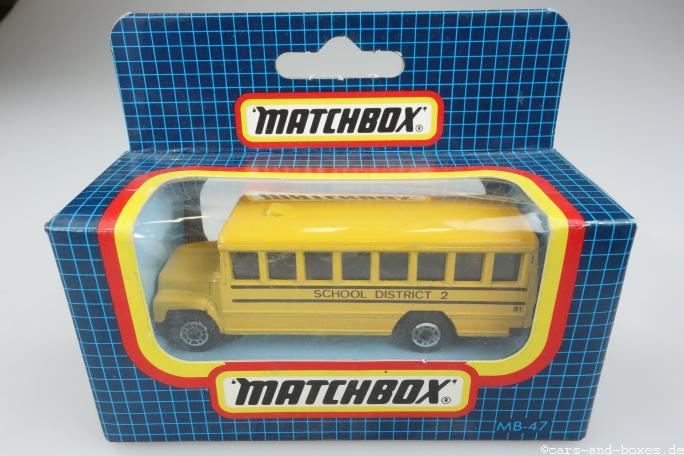 School Bus (47-E) - 64029