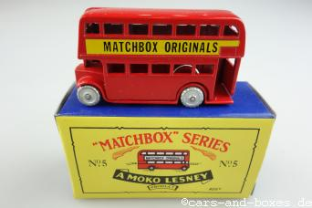 Matchbox Originals No. 05 Bus - 64087