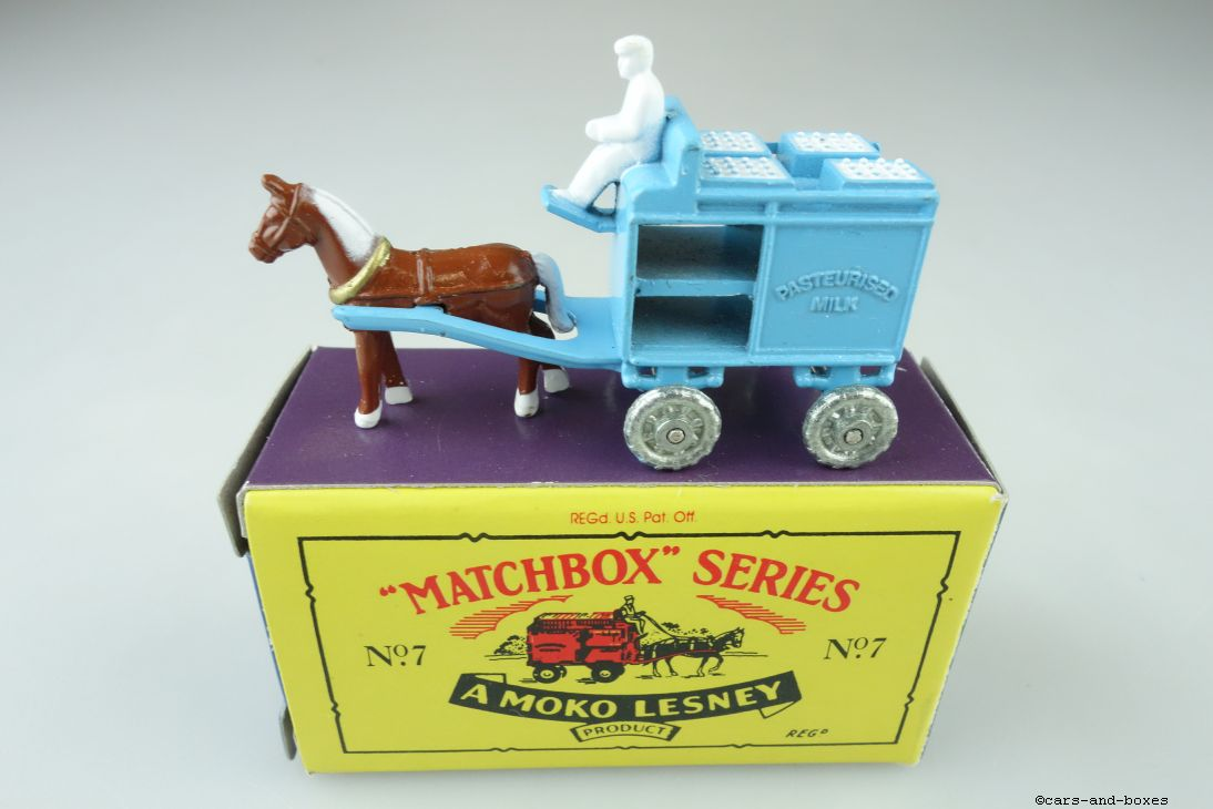 Matchbox Originals No. 07 Milk Float - 64326