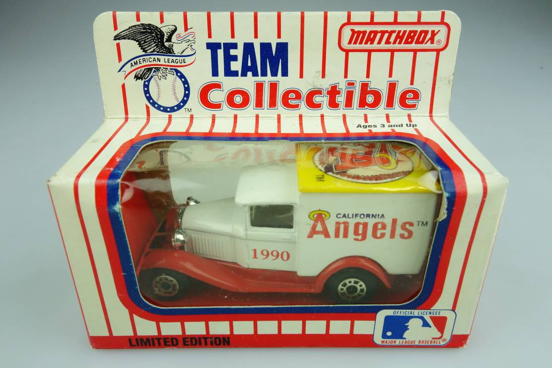 Ford Model 'A' Van (38-E/76-C) MLB 90-03 California Angels - 64639
