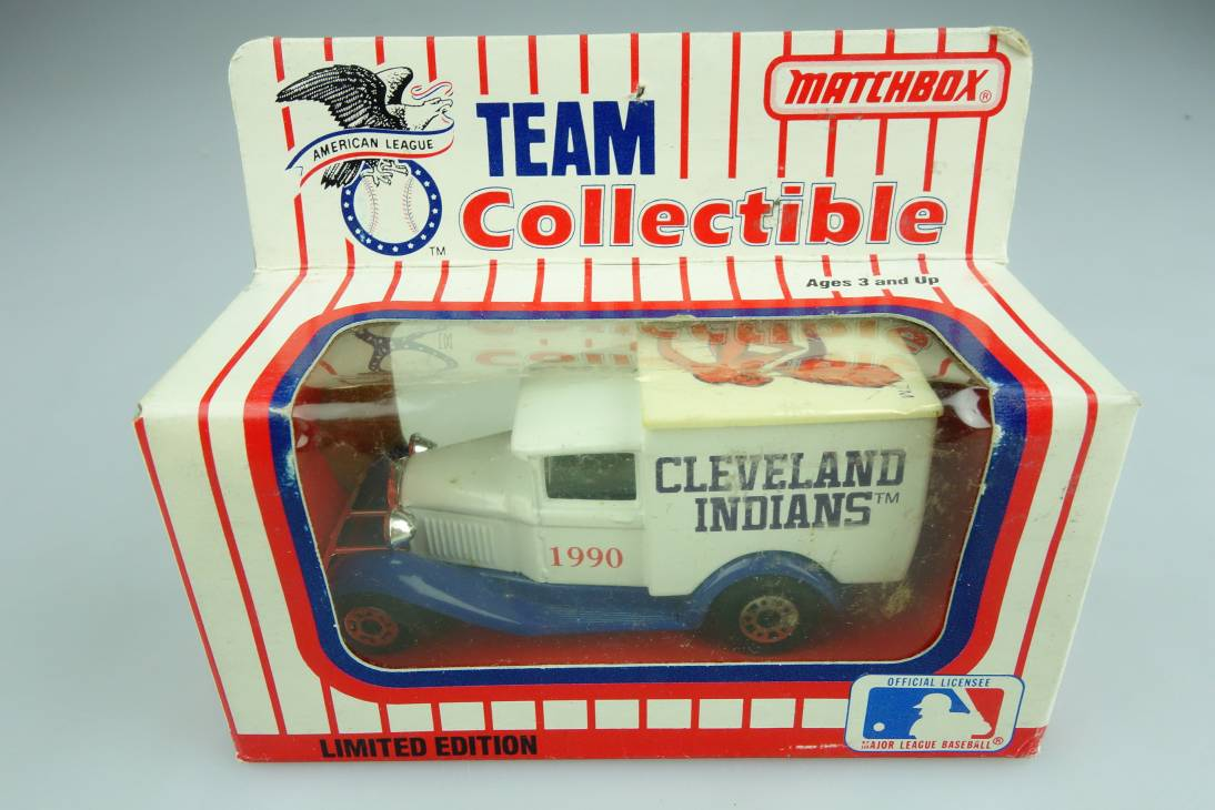 Ford Model 'A' Van (38-E/76-C) MLB 90-05 Cleveland Indians - 64641
