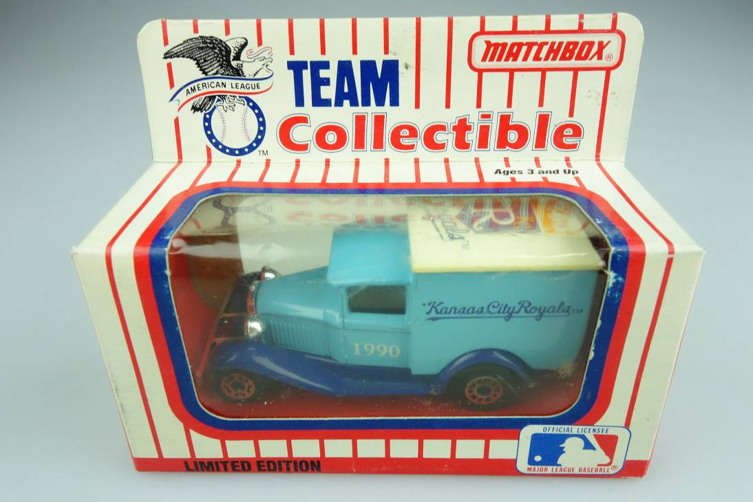 Ford Model 'A' Van (38-E/76-C) MLB 90-07 Kansas City Royals - 64643