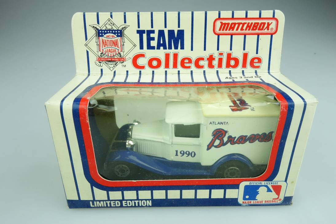 Ford Model 'A' Van (38-E/76-C) MLB 90-15 Atlanta Braves - 64650