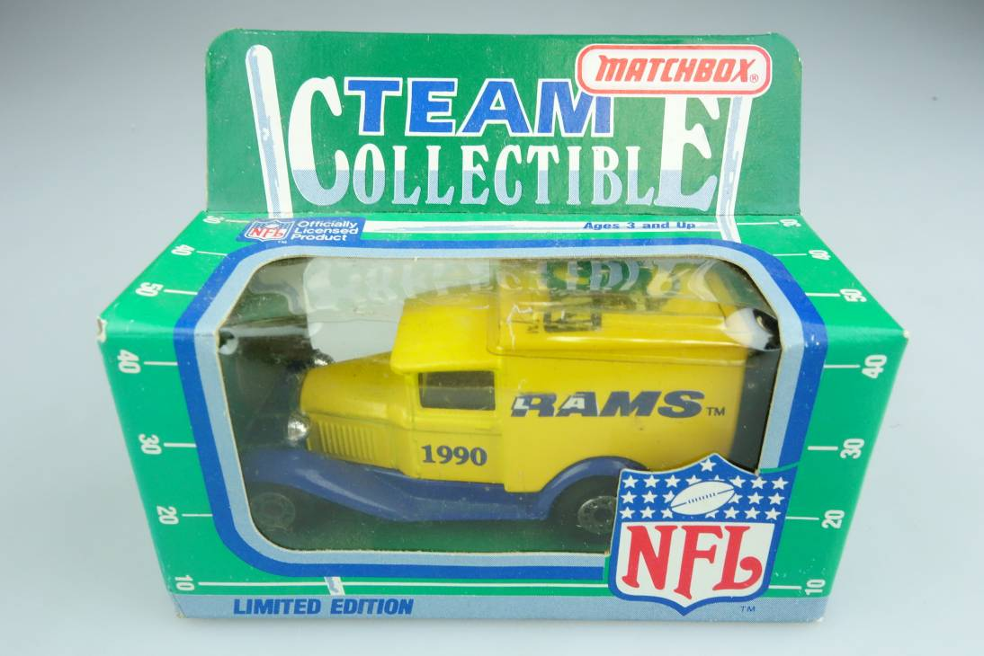 Ford Model 'A' Van (38-E/76-C) NFL 90-06 L.A. Rams - 64663