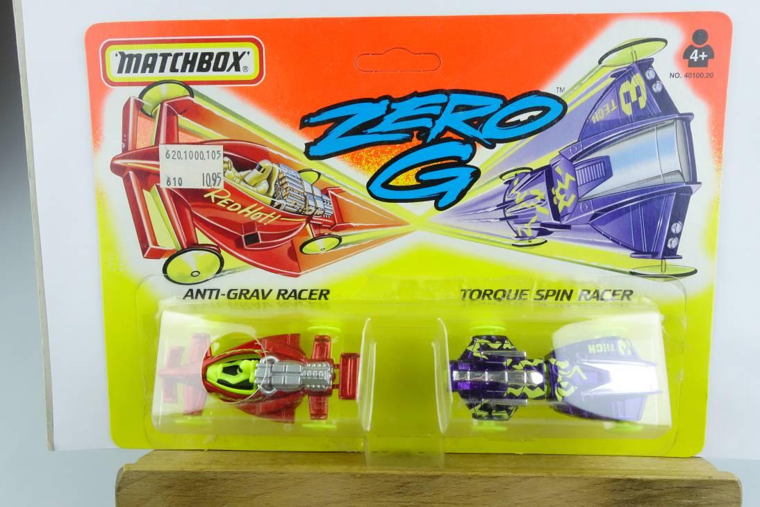 Zero G 1994 #1 Anti-Grav Racer & Torque Spin Racer - 64694