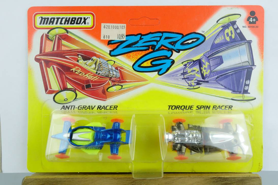 Zero G 1994 #2 Anti-Grav Racer & Torque Spin Racer - 64695
