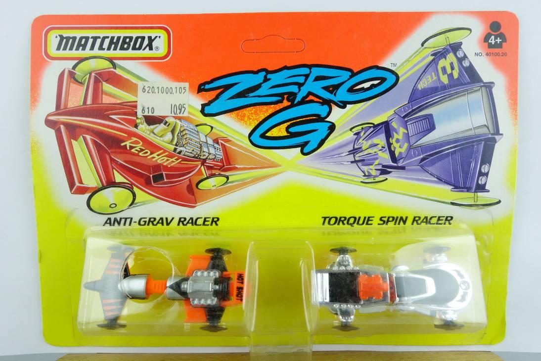 Zero G 1994 #3 Anti-Grav Racer & Torque Spin Racer - 64696