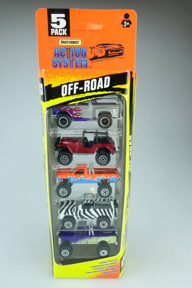 5-Pack Action System Off-Road - 64872