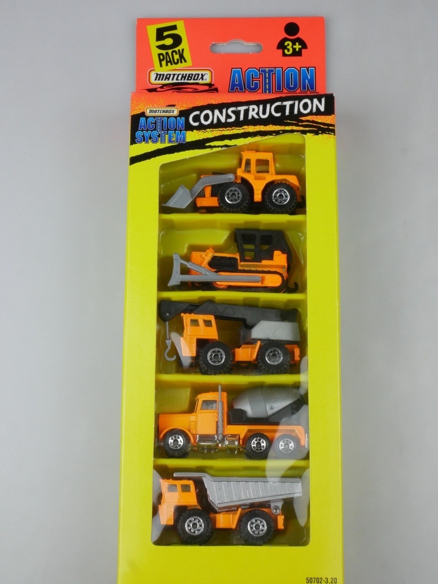 5-Pack Action System Construction - 64874
