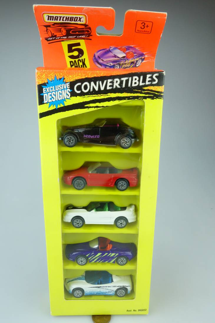 5-Pack Exclusive Designs Convertibles - 64875