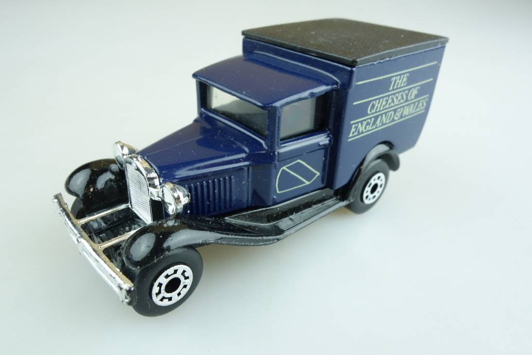 """Ford Model 'A' Van """"The Cheeses of England & Wales"""" (38-E/76-C) - 65483"""
