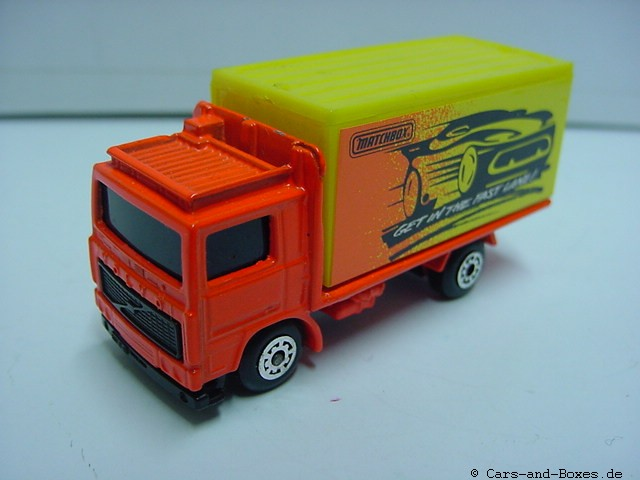 Volvo Container Truck 'Get in the fast lane' (20-D/23-G/62-I) - 65907