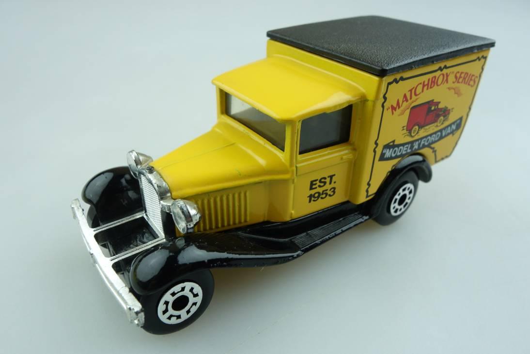 """Ford Model 'A' Van """"Matchbox"""" (38-E/76-C) - 66521"""