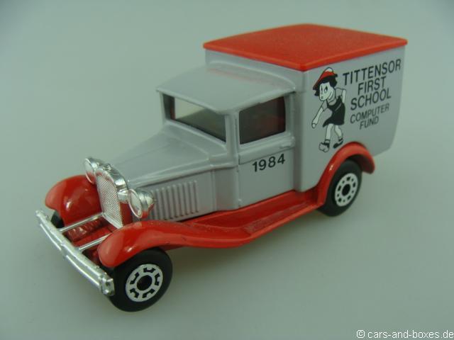 "Ford Model 'A' Van ""TITTENSOR"" First School (38-E/76-C) - 68330"