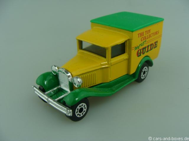 "Ford Model 'A' Van ""TOY COLLECTORS GUIDE"" (38-E/76-C) - 68348"