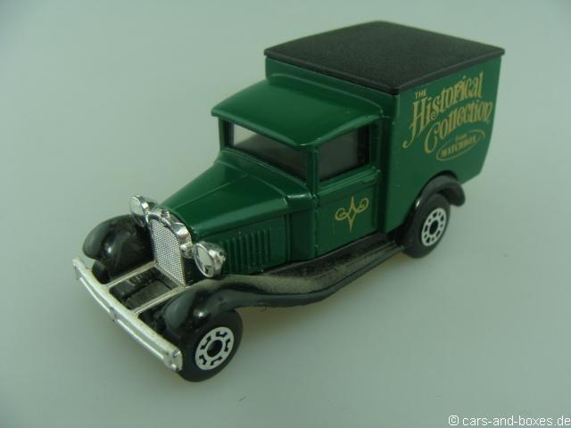 "Ford Model 'A' Van ""Historical"" (38-E/76-C) - 68353"