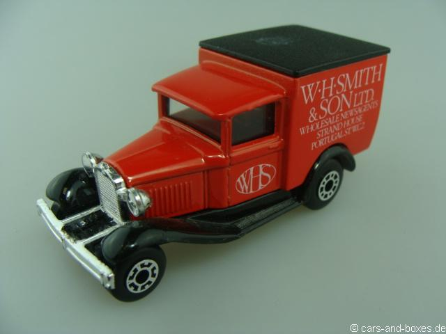 "Ford Model 'A' Van ""W.H. SMITH & SON LTD."" (38-E/76-C) - 68358"