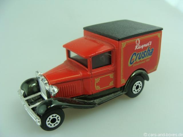 "Ford Model 'A' Van ""Rayner""s Crusha"" (38-E/76-C) - 68367"
